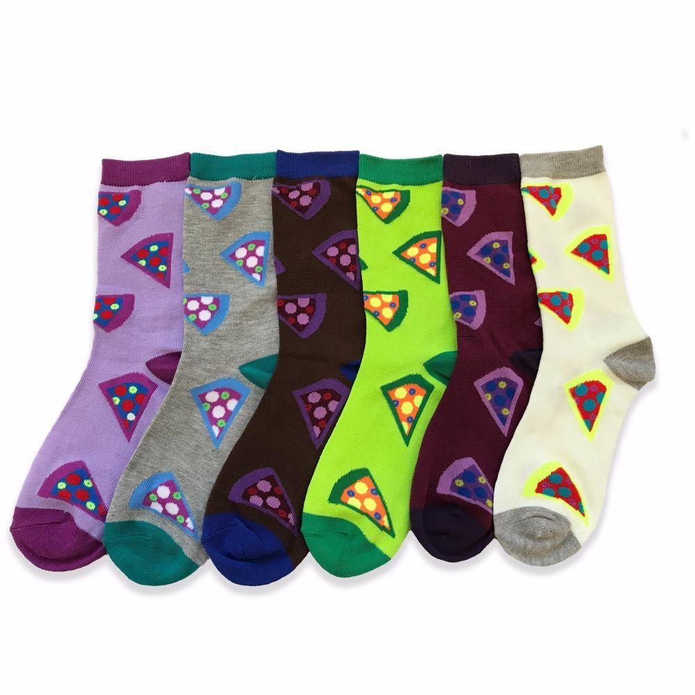 Purple dress socks  New Lot of  Pairs Women Dress Socks Casual Crew Stretch Socks