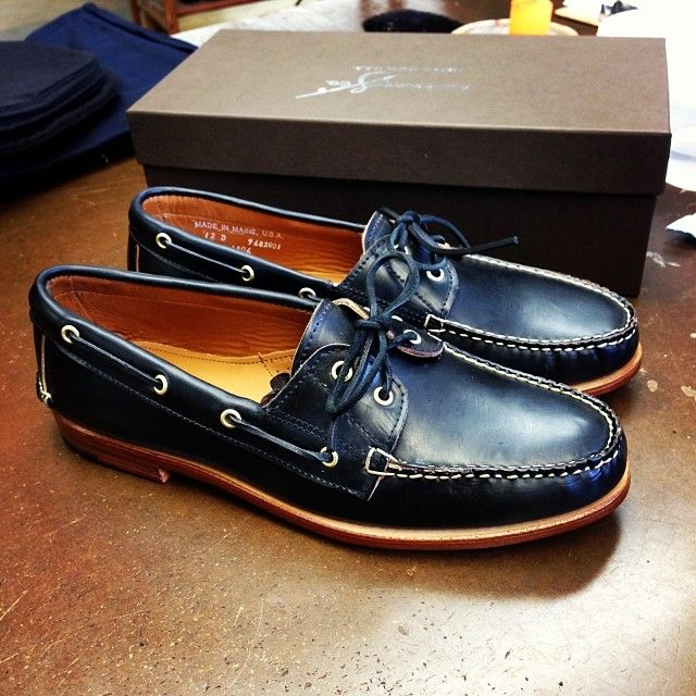 Handcrafted Men's Shoes Made In The USA | Rancourt & Co.