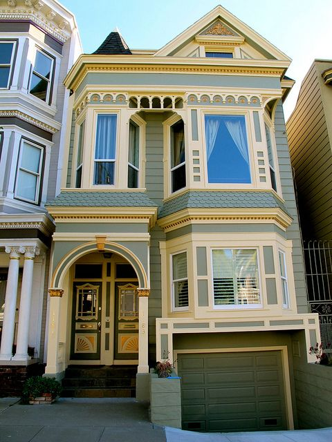 Noe Valley Victorian In 2019 San Francisco Architecture