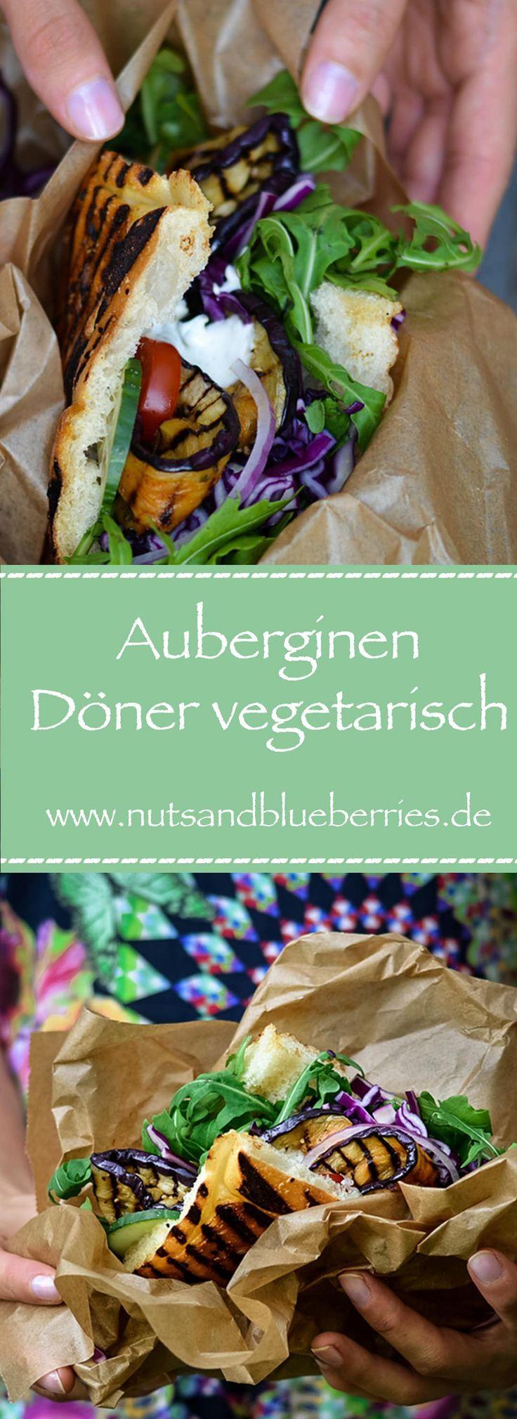 Auberginen Gyros Döner oder Pita - ein vegetarisches Rezept, was sich auch herv...,  Auberginen Gyros Döner oder Pita - ein vegetarisches Rezept, was sich auch herv...,