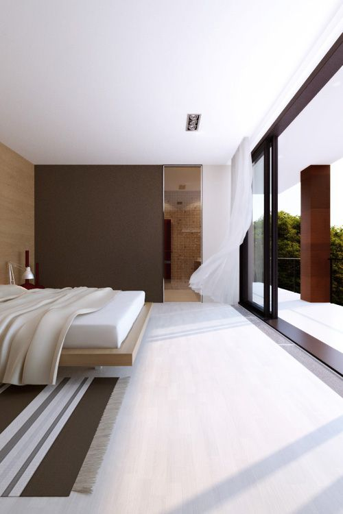 The Urban House in Moldova by Line architects _  BEDROOM  Pinterest  침실, 호텔 ...