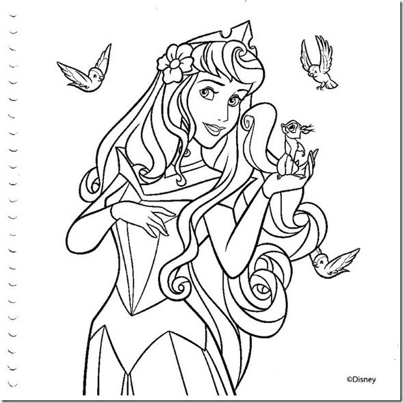 desenhos colorir princesas disney - 026 | Colorindo | Pinterest ...