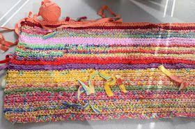 Crochet a rug
