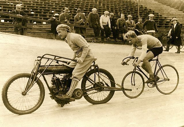 1910 Indian Motorcycle Bike RARE Old VINTAGE Shop Cycle Ride Reprint Image