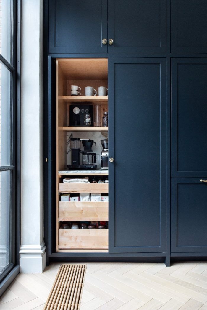 Kitchen Organization and Pantry Design Dreams - Hither & Thither #pantrycabinet