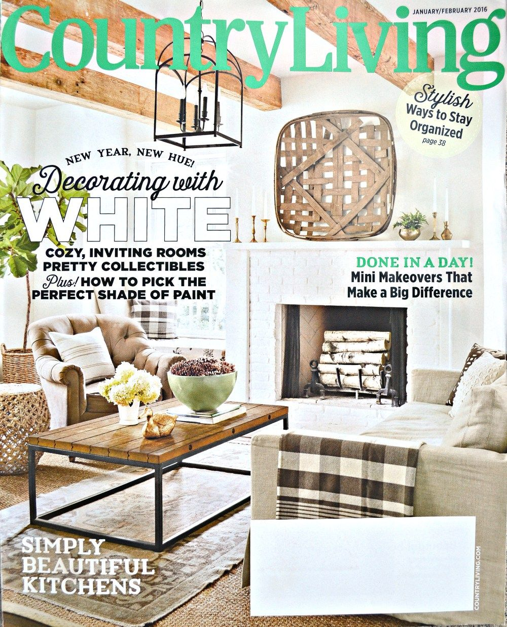 DIY the Look Country Living Edition Country living