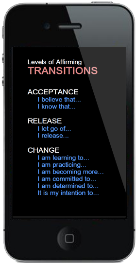 Another screenshot from the Affirm Your Life iPhone app. Just one of over 2350! Find out more - bit.ly/GOth3Z