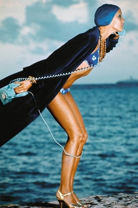 ANTIDOTE SUMMER DIARYJerry Hall by Norman Parkinson in 1975