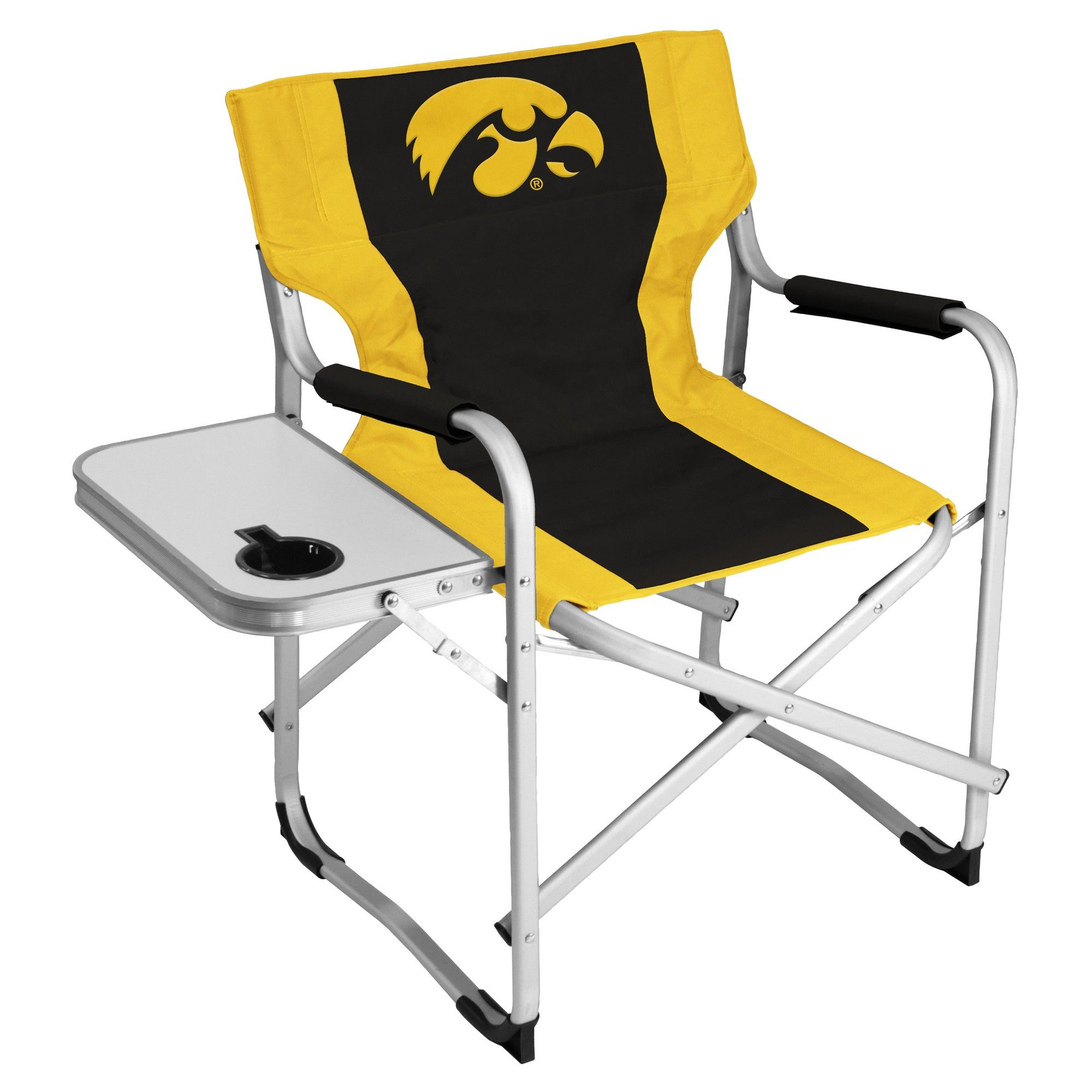 Prime Ncaa Iowa Hawkeyes Logo Brands Alumni Deck Chair Products Beatyapartments Chair Design Images Beatyapartmentscom