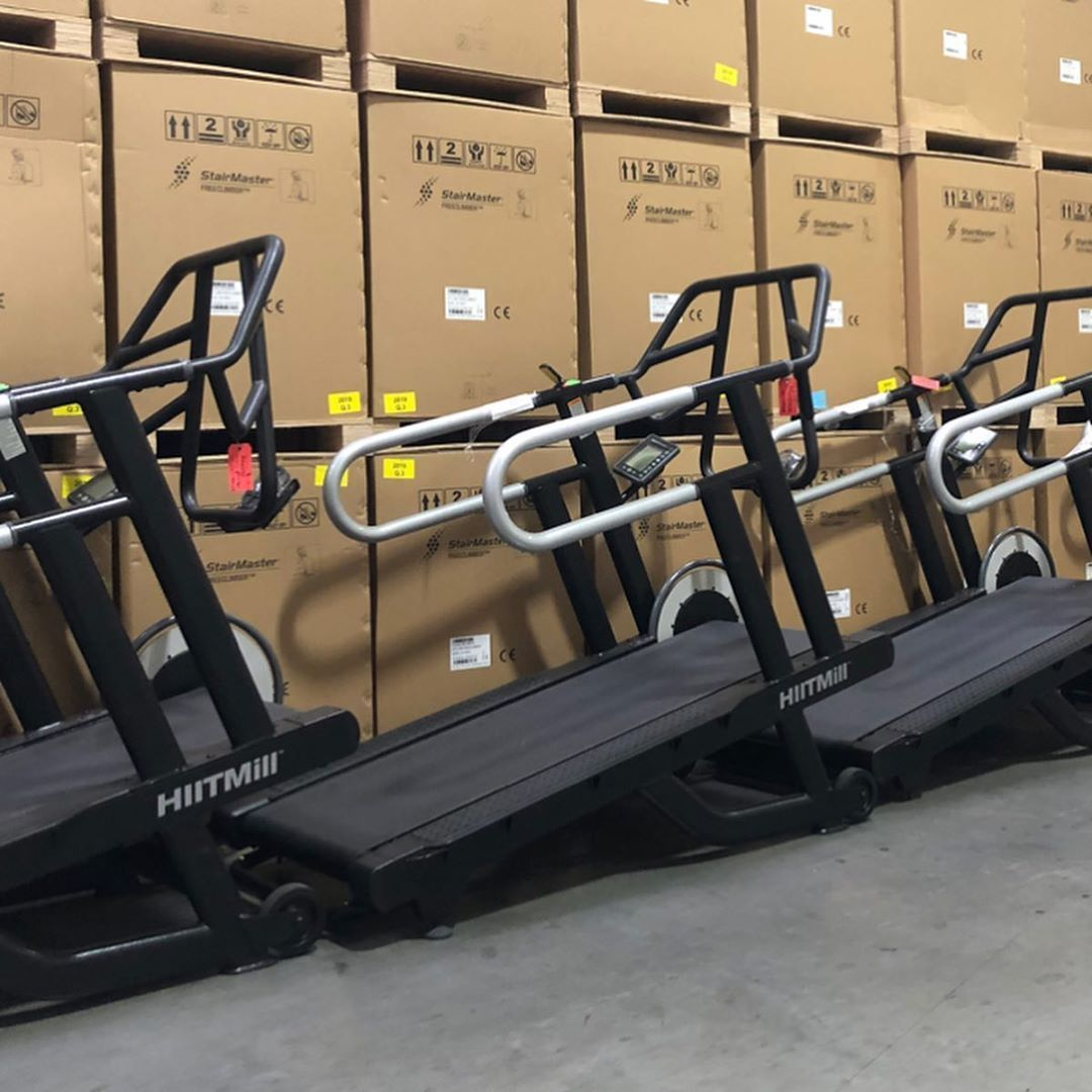 Like new condition  StairMaster HIITMILL treadmills .  delivery available  price by 60% off other co...