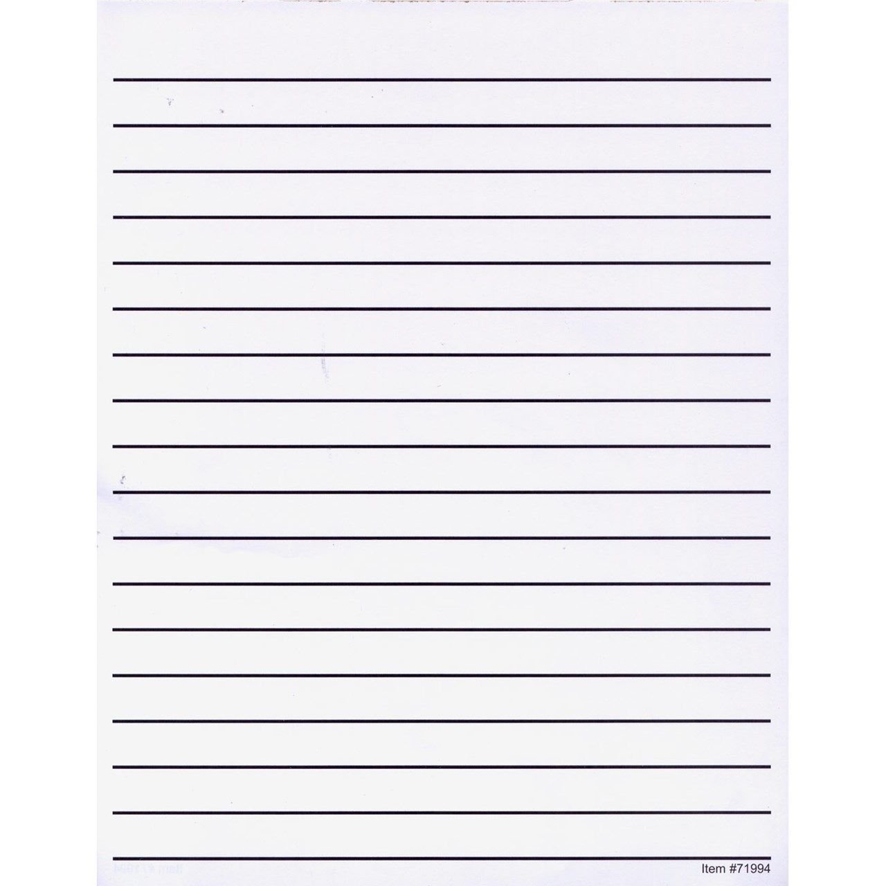 Lined Paper With Writing