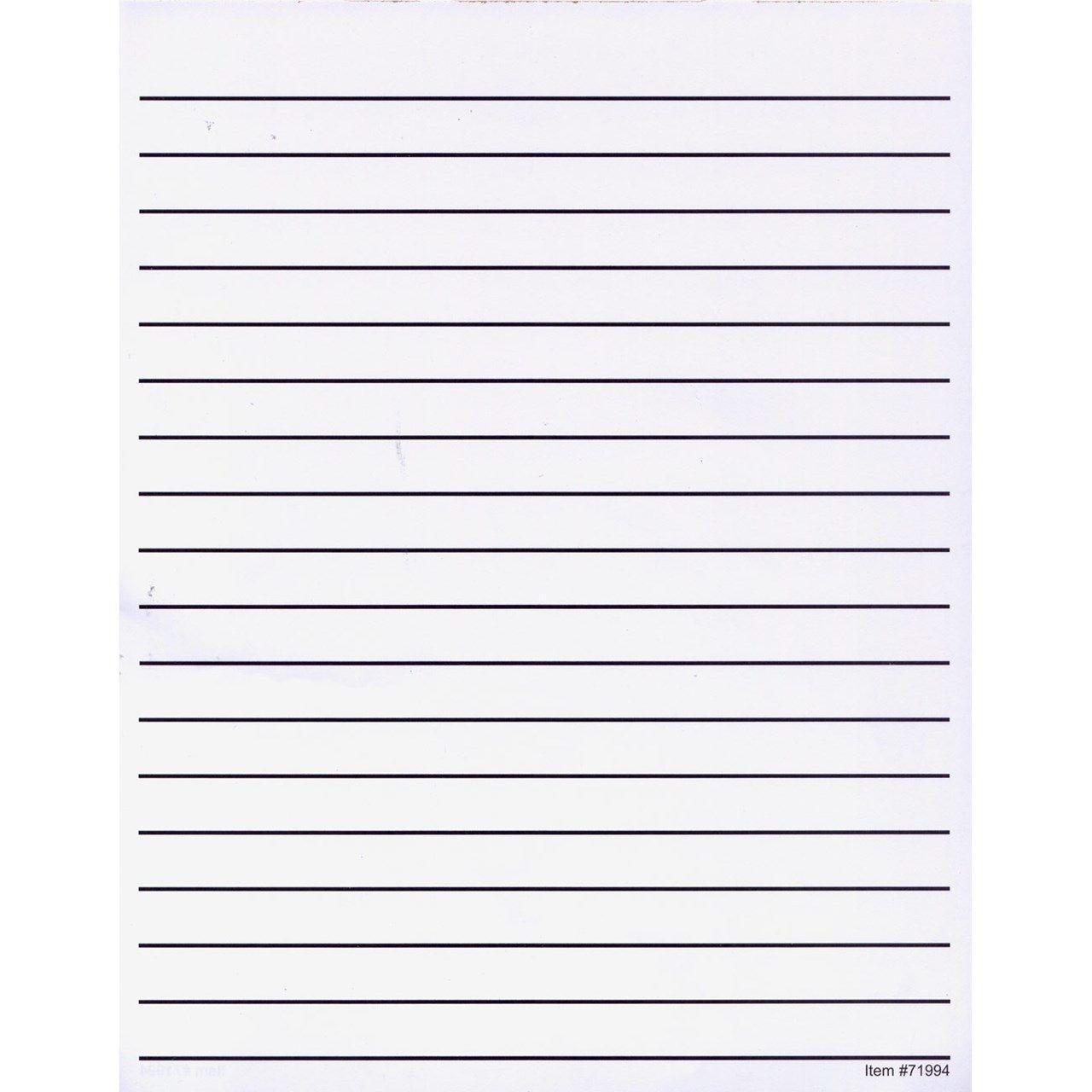 Lined Letter Paper Zoro Blaszczak Writing Image