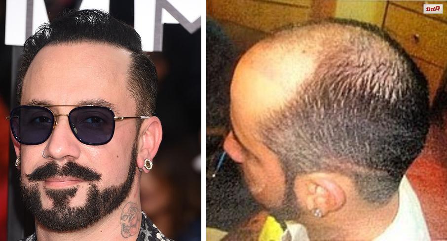 Aj mclean shaved