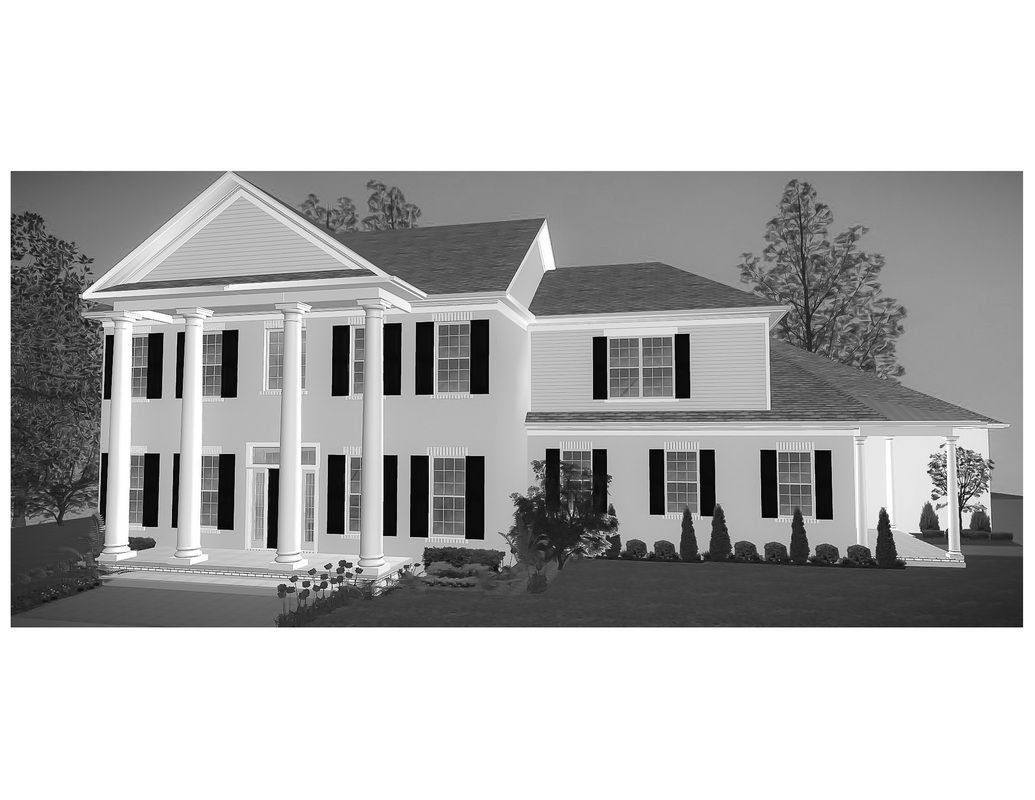 rendering of white brick home - Custom House Designs by Lang Smith on gambrel home designs, winter home designs, sullivan home designs, high home designs, alexander home designs, senior home designs, wright home designs, mcdonald home designs, skagit home designs, medium home designs, houston home designs, evans home designs, lindell home designs, sheik home designs, adams home designs, bing home designs, peacock home designs, block home designs, wise home designs, four square home designs,