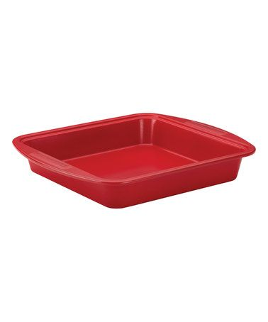 Another great find on #zulily! Chili Red Nonstick 9'' Square Cake Pan #zulilyfinds