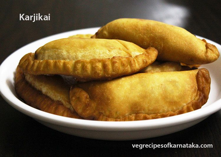 Karjikai recipe explained with step by step pictures karjikai or food forumfinder Images