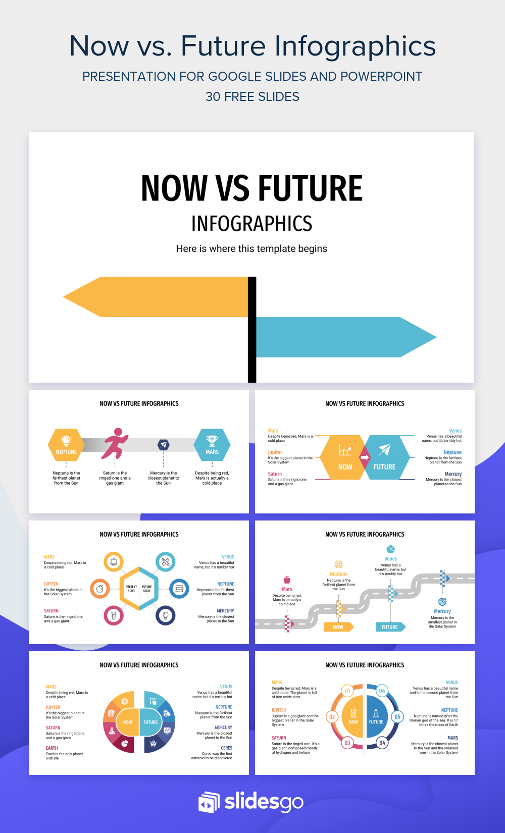 Download Our Infographics For Google Slides And Powerpoint And Have Some Visual Comparisons Ready For Your P In 2021 Infographic Powerpoint Powerpoint Design Templates