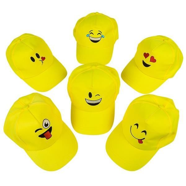 yellow baseball caps for sale hat amazon these bright fans young with funny faces choose suppliers