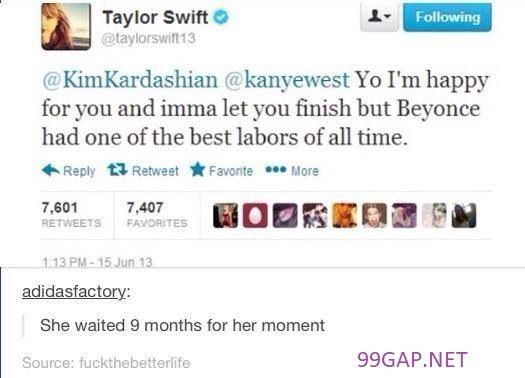 Hilarious Tweets About Taylorswift Vs Kanyewest Kimkardashian Beyonce Taylor Swift Funny Taylor Swift Taylor