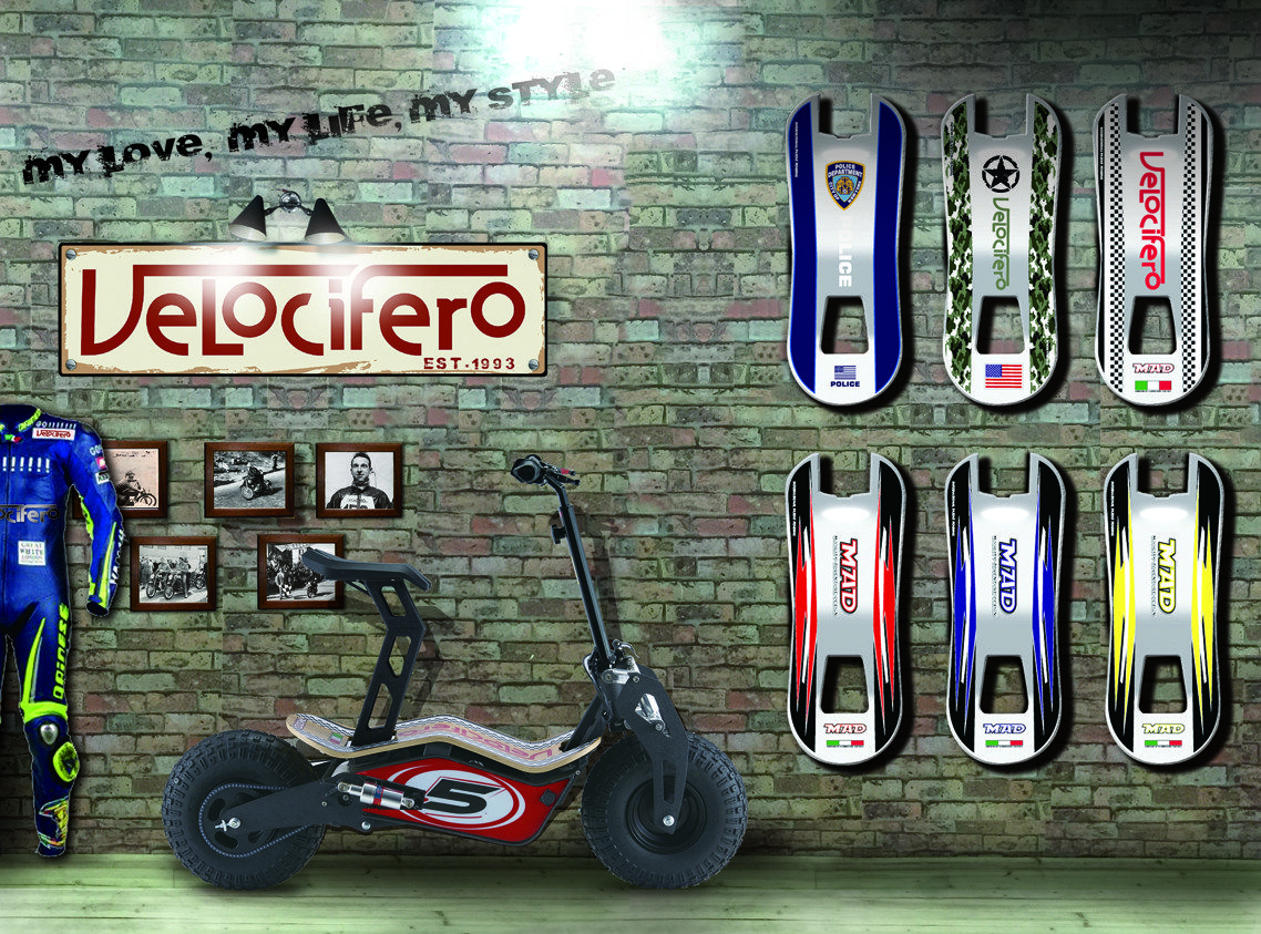 motocross velocifero scooter 1600w roller test. Black Bedroom Furniture Sets. Home Design Ideas