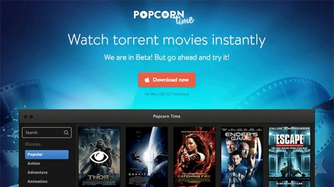 Download popcorn time Apk latest version for Android, iOS