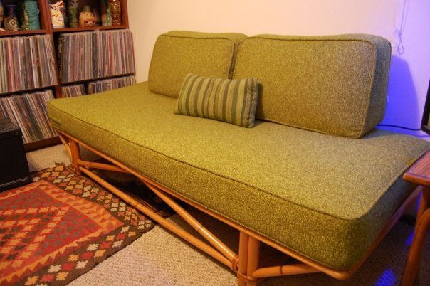 Best My Heywood Wakefield Day Bed Rattan Daybed Mid Century 400 x 300