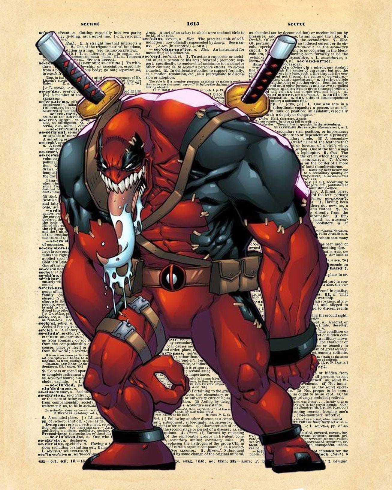 Venom Vs Deadpool Deadpool Deadpool Art Marvel Comic Universe