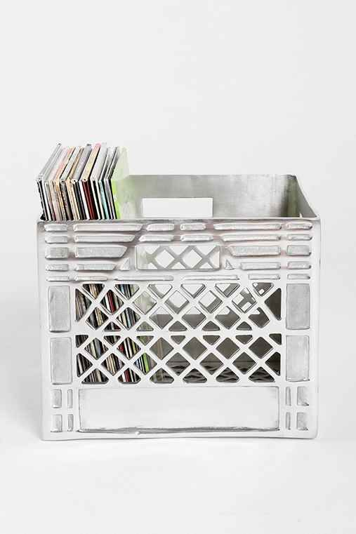 #NorajukuStylist Apartment Decor Inspo: Locust Metal Storage Crate   Urban  Outfitters