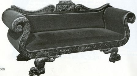 Philadelphia Empire furniture by Antoine Gabriel Quervelle - From the  Archives - The Magazine Antiques - Philadelphia Empire Furniture By Antoine Gabriel Quervelle - From