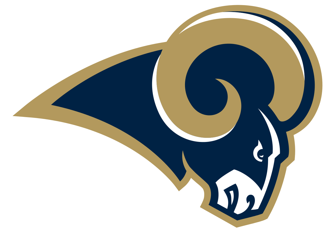 FileSt Louis Rams logo.svg Nfl teams logos, Rams