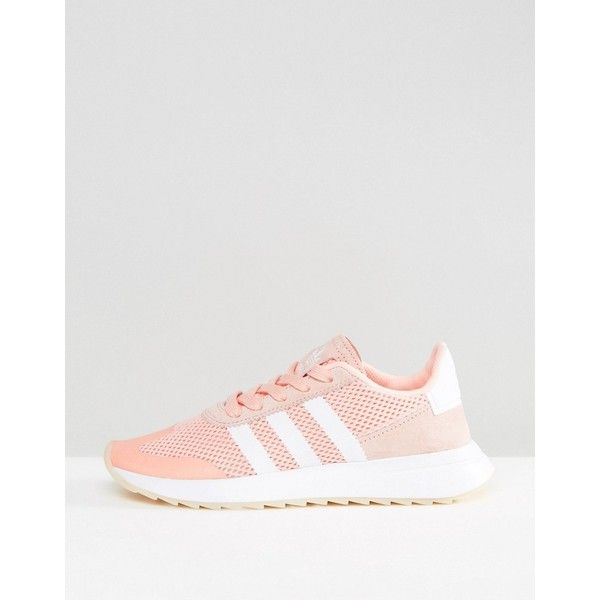 adidas originals coral flashback trainers