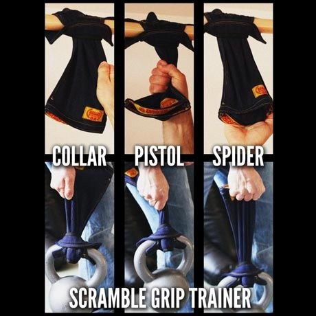 Scramble Grip Trainers - get your grips stronger!