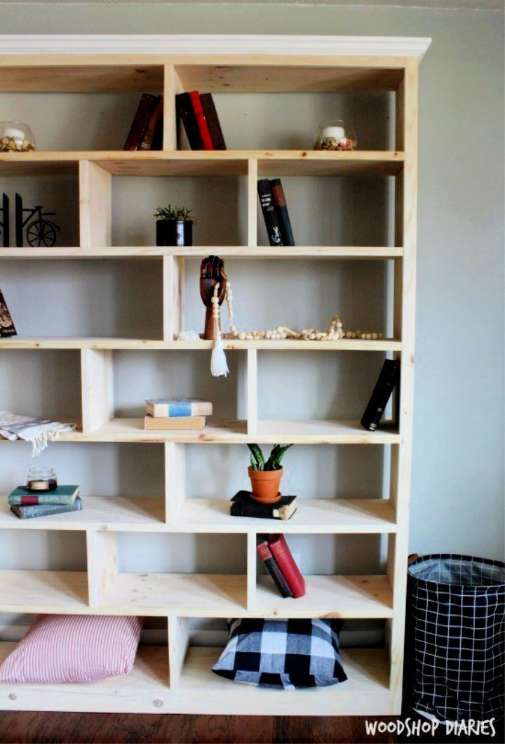 Photo of 50 Clever DIY Bookshelf Ideas and Plans
