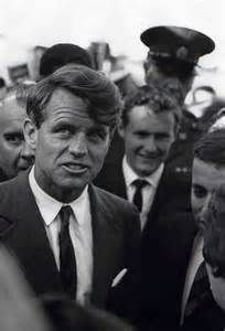RFK.  It's said he was like two different men....before and after 11/22/63