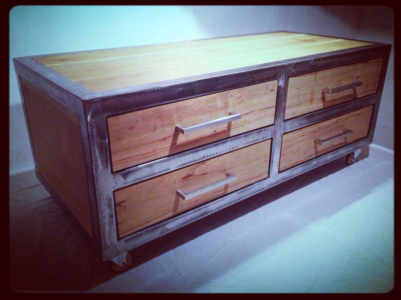 Sideboard cheerywood/Rolls