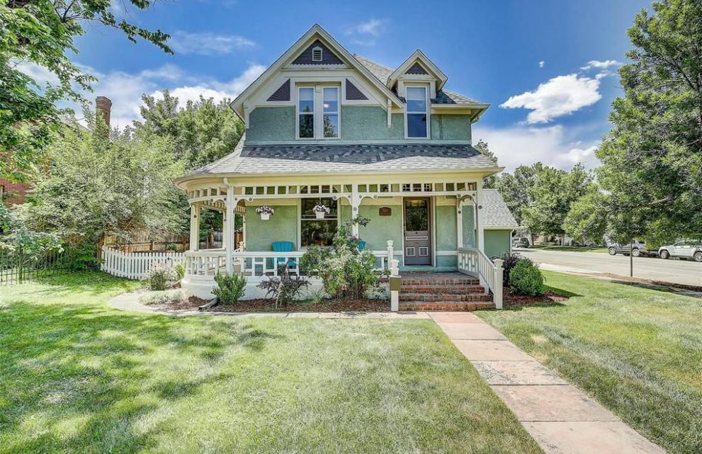 1887 Queen Anne Victorian For Sale In Denver Colorado
