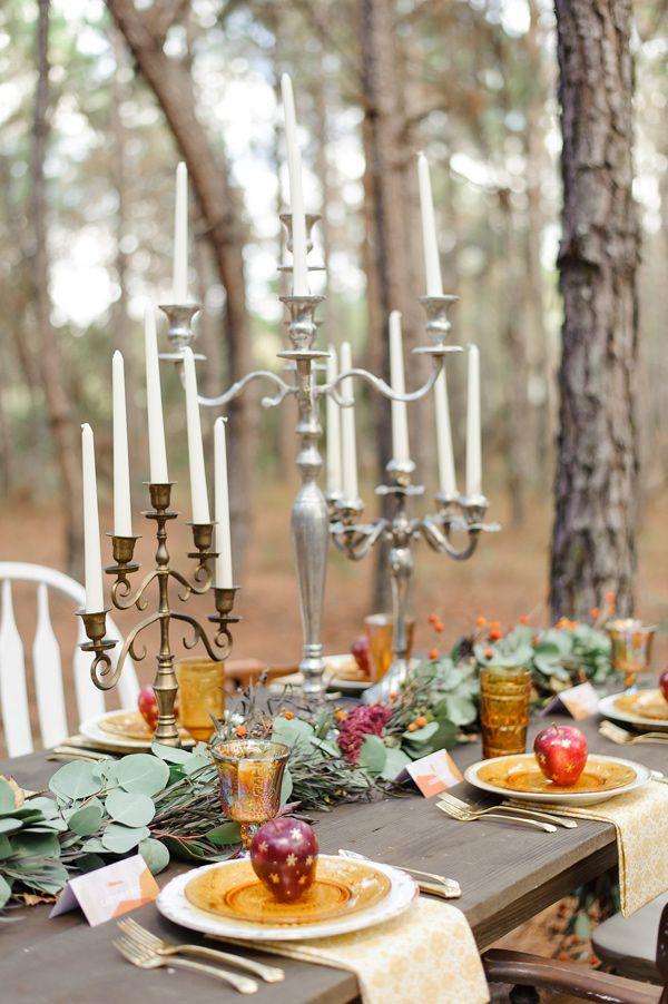 Autumn wedding table decoration ideas | i take you