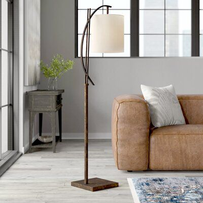 Trent Austin Design Amelio 65 Arched Floor Lamp Floor Lamps