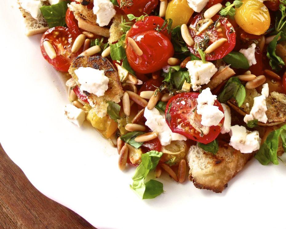 Tomaten-Brot-Salat I zimtrose.wordpress.com