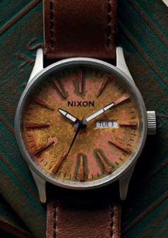 The Sentry Leather in Oxyde (DISCONTINUED)