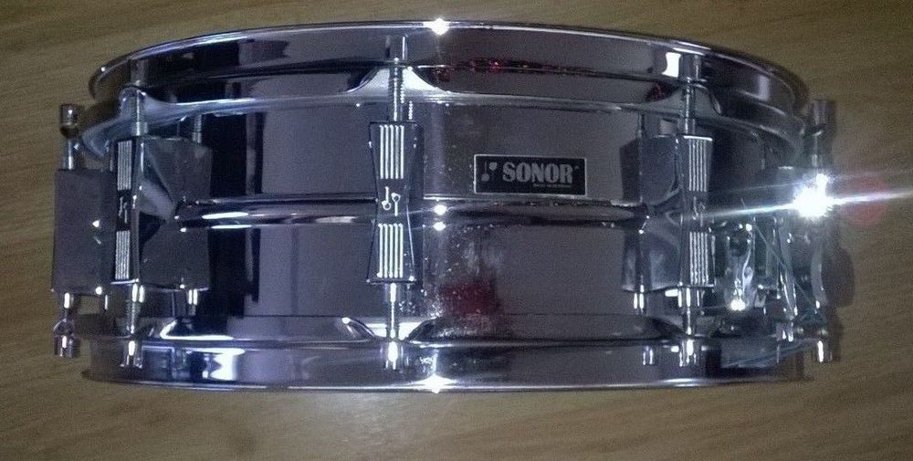 RARE - Vintage Sonor Phonic D-454 Ferro-Manganese Snare Drum ...