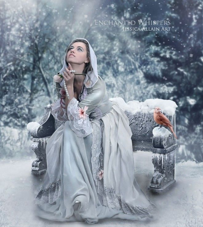 Enchanted Whispers Jessica Allain Art | Wishing by Enchanted Whispers