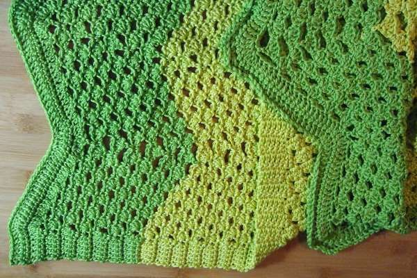 Little Shell Ripple Afghan - Afghans Crocheted My Patterns ...