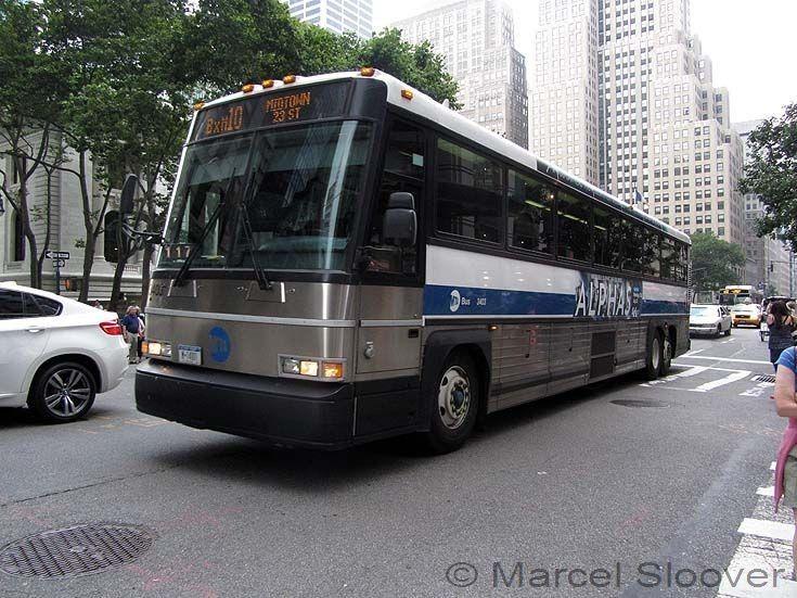 Bus And Coach Photos Mci Coach Mta Bus New York City Bus