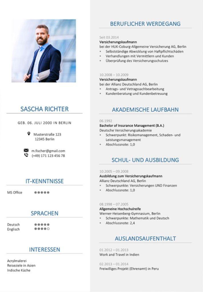 5 Lebenslauf Tipps, wie Ihr CV ein richtiger Hingucker wird | CV ...