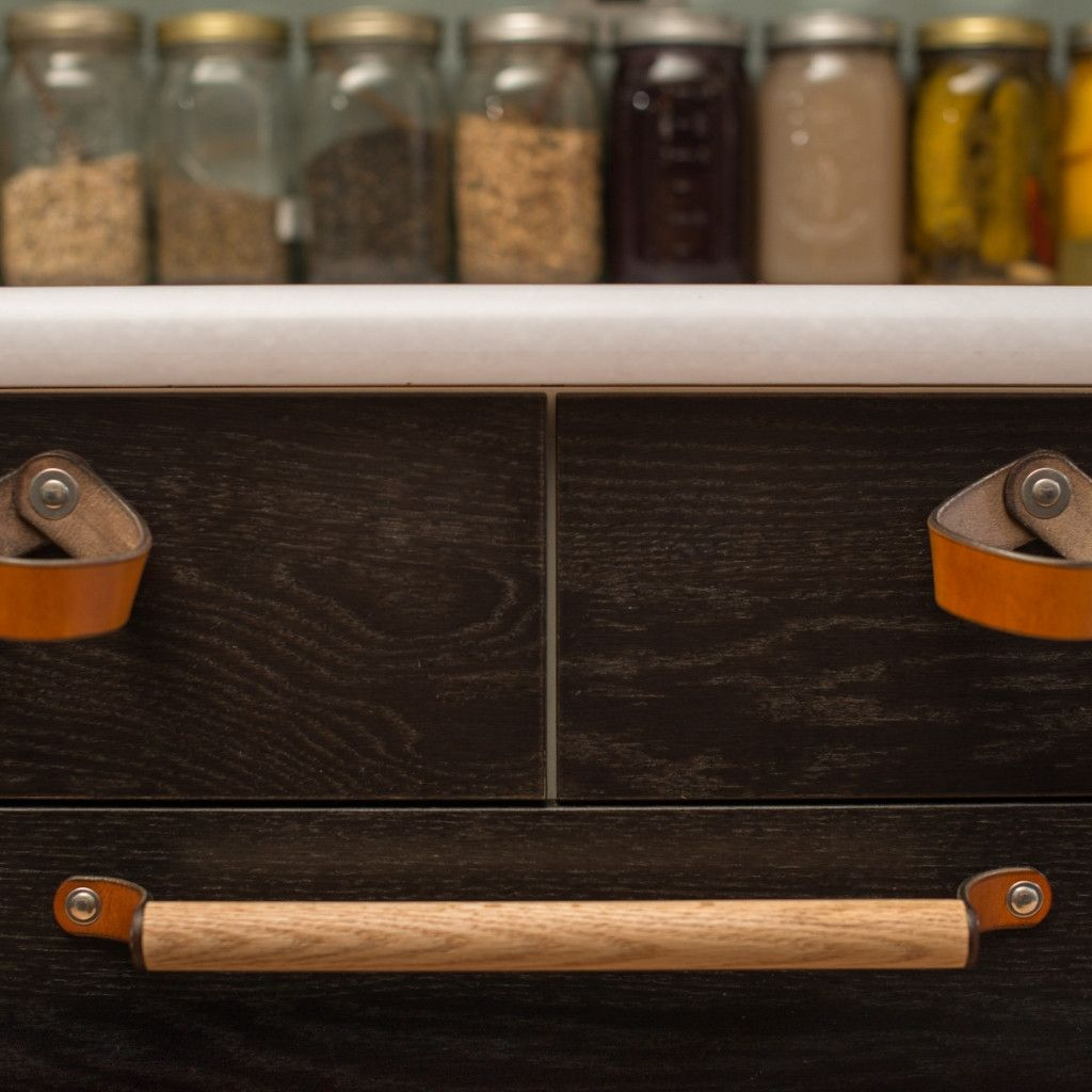 Leather Drawer Pull - The Fremont | Drawers, House beautiful and ...