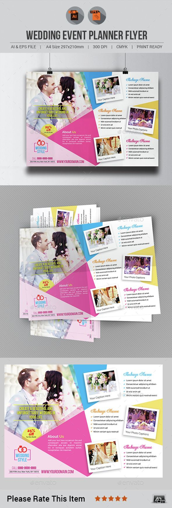 wedding event planner flyer wedding event planner planners and