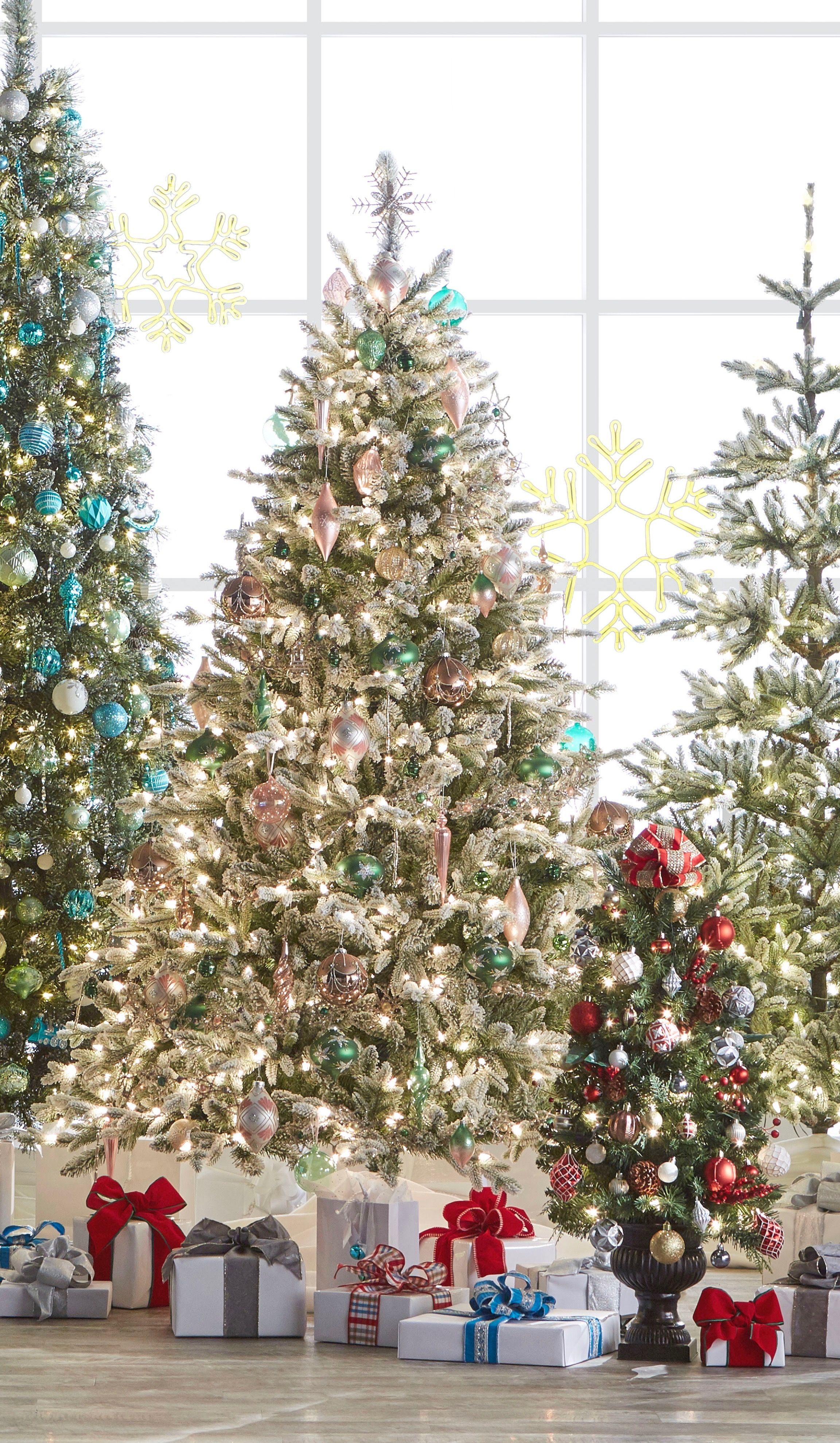 How To Decorate A Tree Christmas Tree Home Depot Holiday Christmas Tree Christmas Tree Design