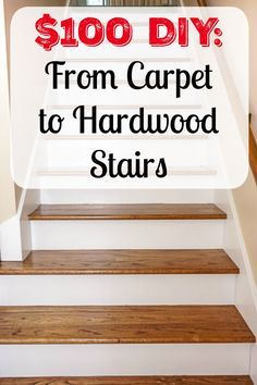 100 Diy From Carpet To Hardwood Stairs Bloggers