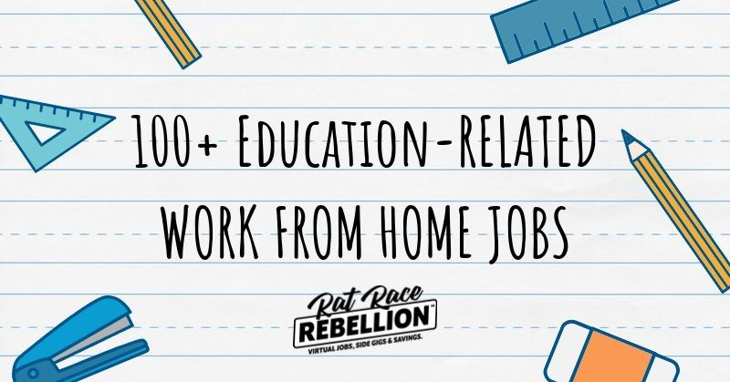 100+ Remote Openings in EducationRelated Positions with